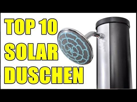 TOP 10 BESTE GARTEN SOLARDUSCHEN ★ Solar Gartendusche kaufen ★ Camping Solardusche Test - Duschen...