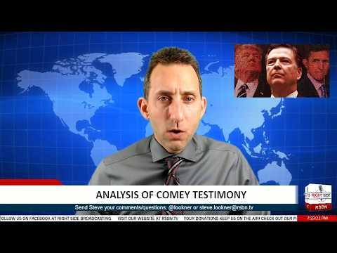 LIVE: Analysis of James Comey's Testimony - 6/7/17