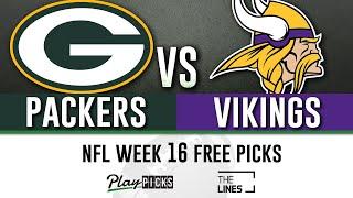 Monday Night Football NFL Week 16 - Packers vs Vikings   MNF Free Picks