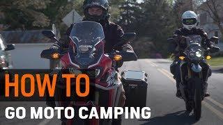Motorcycle Camping: Basics, Buddies, and Backroads at RevZilla