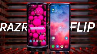 Samsung Galaxy Z Flip vs Moto Razr makes me sad