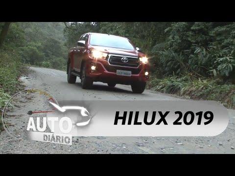 Avaliamos a Hilux SRV 2019