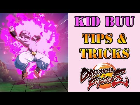 Dragon Ball FighterZ - Kid Buu Tips & Tricks