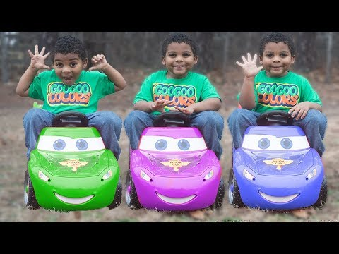 LIGHTNING MCQUEEN WHERE ARE YOU? Goo Goo Gaga Learn and Play with Colors