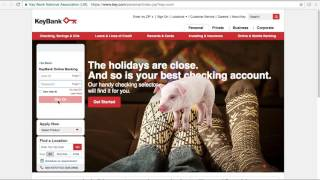 Key Bank Online Banking Login / Sign In - Pig Out