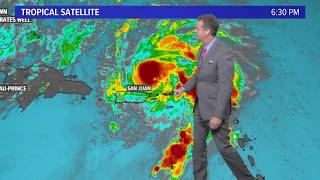 Hurricane Dorian: Where will the storm go?  (7pm update, 8/28)