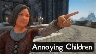 Skyrim: Top 5 Annoying Children That No One Can Stand In The Elder Scrolls 5: Skyrim