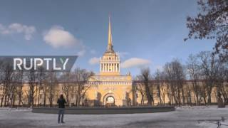 Russia: Check out St. Petersburg; one of the host cities of Russia