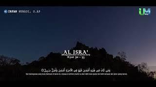 preview picture of video 'MUROTTAL QURAN || IRFAN MUNADI, S.AP || AL ISRA' 70 - 75'