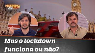 Joel chora após argumento de Adrilles sobre lockdown
