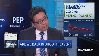 Tom Lee on what bitcoin's breakout means for the cryptocurrency
