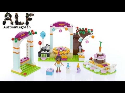 Vidéo LEGO Friends 41110 : La fête surprise des animaux