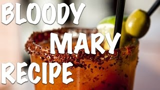 Bloody Mary Drink Recipe (HD) - Bartending Pro