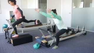 Prenatal Reformer Pilates class demo