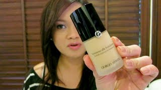 Foundations Currently Loving Full Review: GA Luminous Silk & Diorskin Forever Flawless Makeup