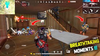 AWM + Mp40 18 Kills Total In Free Fire | Legendary Awm Sniping | Garena Free Fire - P.K. GAMERS