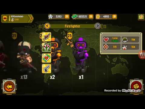 Pocket Troops : Kill the boss 89000 Hp by toxicity