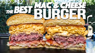 THE BEST MAC & CHEESE BURGER (FORGET ALL THE OTHERS!) | SAM THE COOKING GUY