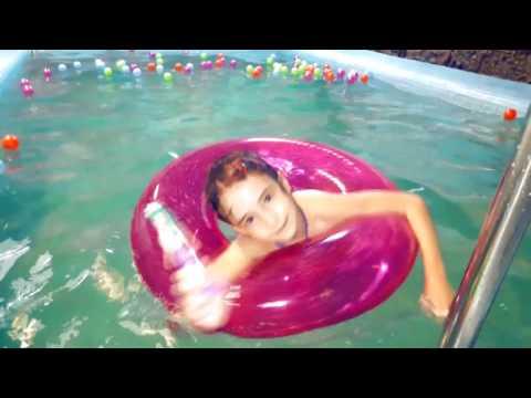 ВЛОГ купаемся в бассейне👙 Vlog swimming in Pool