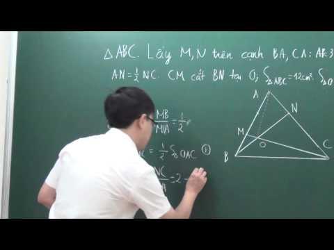BDHSG Toán 6 - Tam giác - thầy Bùi Minh Mẫn