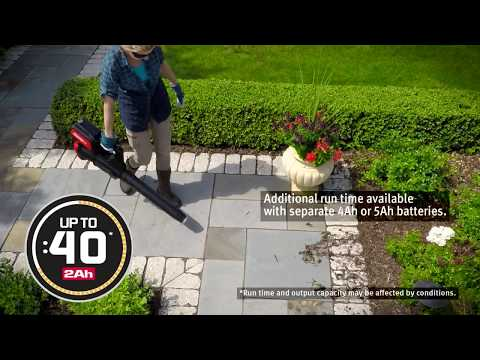 Snapper XD 82V Max Lithium-Ion Cordless Leaf Blower (SXDBL82K) in Evansville, Indiana - Video 1