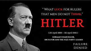 Hitler - BEST LEADERSHIP Quotes | Voiceover Added