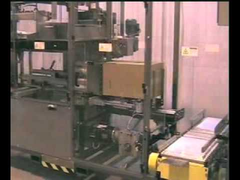 HL350SA Cups Semi-Automatic Side Load Case Packer
