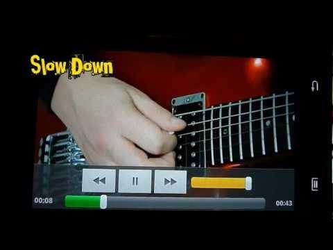 Vídeo do Shred Guitarra Solo VIDEO Lite