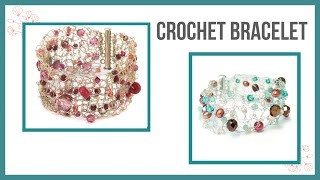 Crochet Bracelet - Beaducation.com