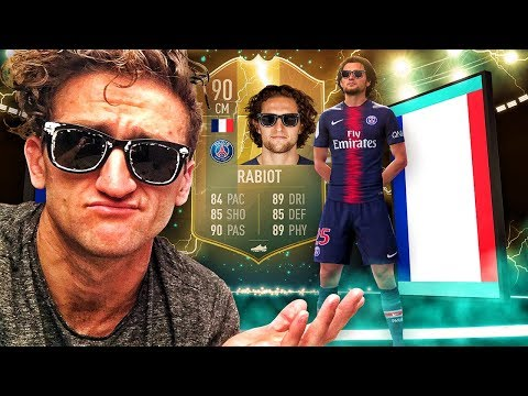 WHAT IS THIS CARD?! 90 FLASHBACK RABIOT PLAYER REVIEW! FIFA 19 Ultimate Team