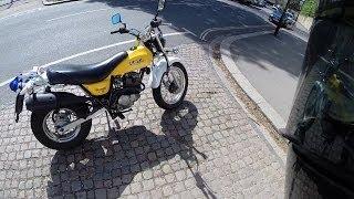 Suzuki VanVan 125 ride