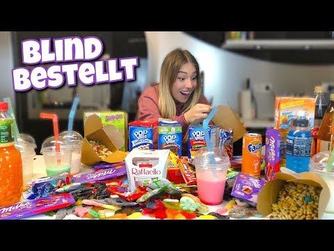 BLIND für 200€ Süßigkeiten bestellen - XXL 😍 | BibisBeautyPalace