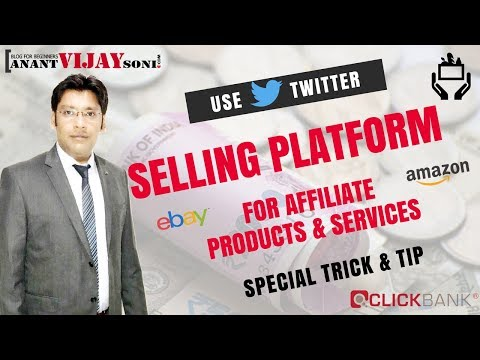 Use Twitter as a Selling Platform for Products and Services 1