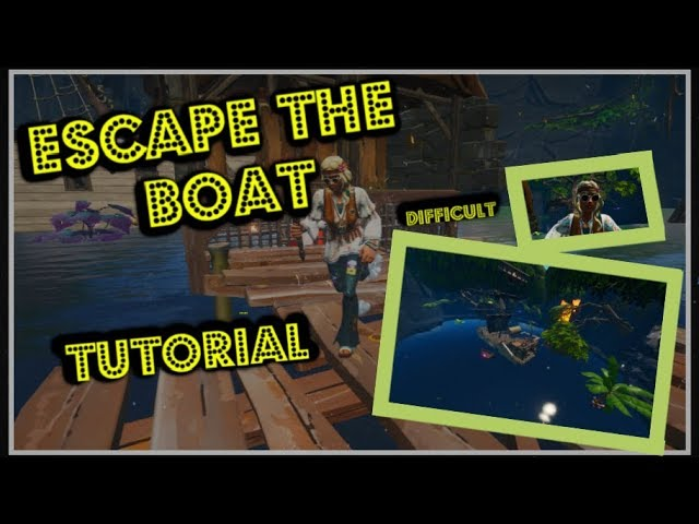 Escape the boat