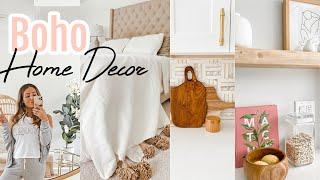 BOHO HOME DECOR // NEW HOUSE