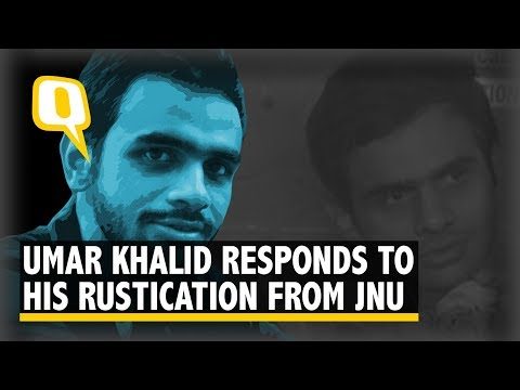 Umar Khalid: My rustication from JNU is based on lies | The Quint