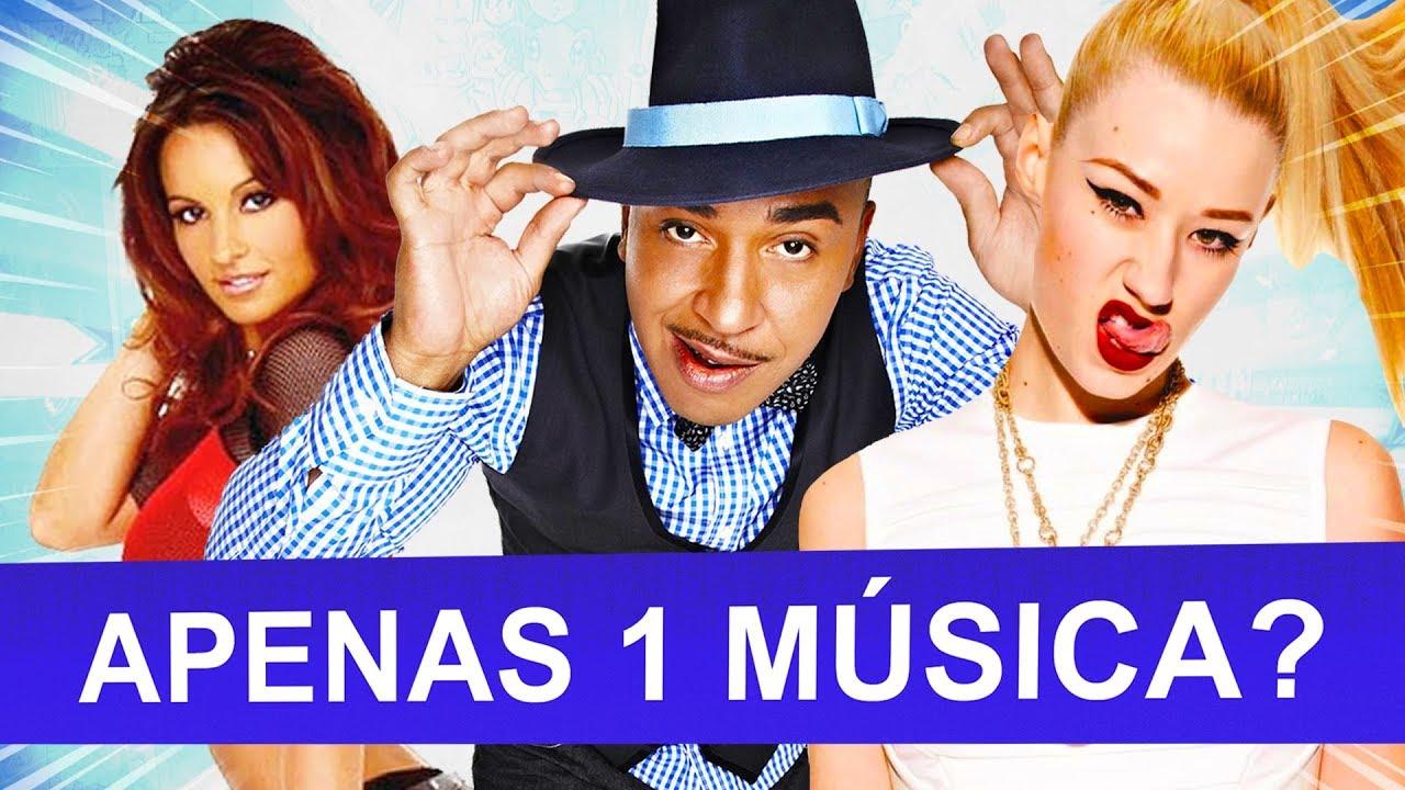Bandas famosas com APENAS 1 MÚSICA de sucesso