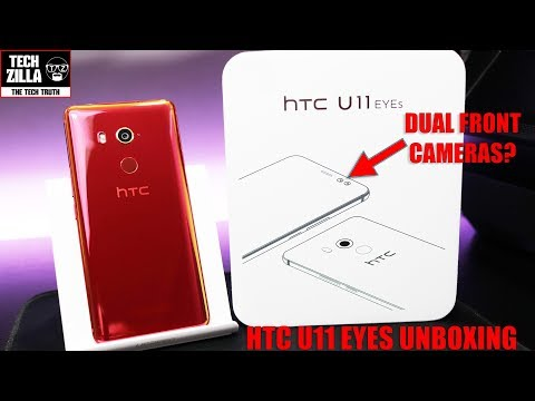 HTC U11 EYES - Unboxing - First Impressions - Hands On