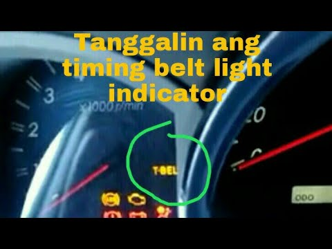Toyota Dyna /Landcrusier T-belt light reset - смотреть онлайн на Hah