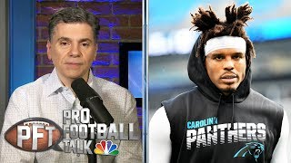 Are Panthers tired of dealing with Cam Newton's injuries? | Pro Football Talk | NBC Sports