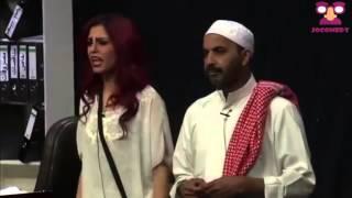 اجمل مشاهد مسرحية الصيدة بلندن | طارق العلي