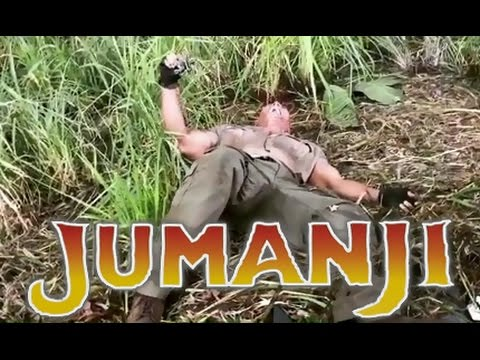 The Rock Pranks and Scares Kevin Hart on set of Jumanji (Kevin Hart, The Rock, Nick Jonas, Jack Black) (видео)