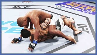 UFC 2 Ultimate Team Gameplay - UH OH! DON'T PANIC!!