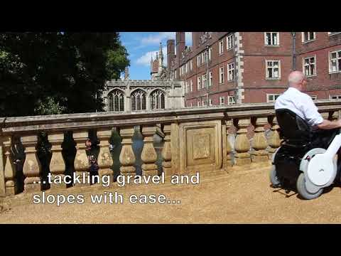 TGA WHILL Powerchair in use at St. John's College, University of Cambridge YouTube video thumbnail