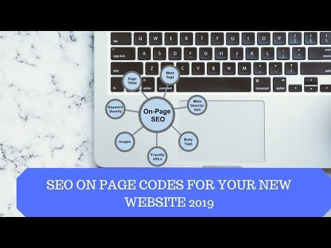 How to write seo on page codes for your new website 2019
