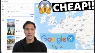 How to find CHEAP flights on GOOGLE FLIGHT *Hack/Tips*