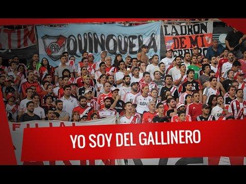 """""""Yo soy del Gallinero"""" Barra: Los Borrachos del Tablón • Club: River Plate"""