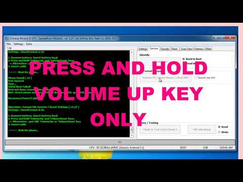 Mobo H45 Boss spd6533G Boot key format and Flash with cm2 - смотреть