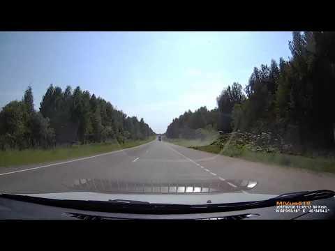 Водитель Scania устроил массовое ДТП в Кировской области