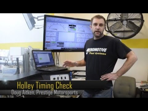 How to Check Timing with Holley Terminator X EFI with Doug Aitken, Prestige Motorsports
